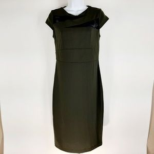 Mossimo Women's Dress Size Small Dark Green DL20